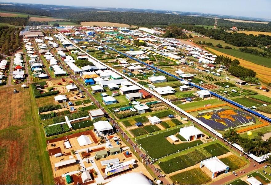 Mais de 500 expositores se reúnem no Show Rural, em Cascavel