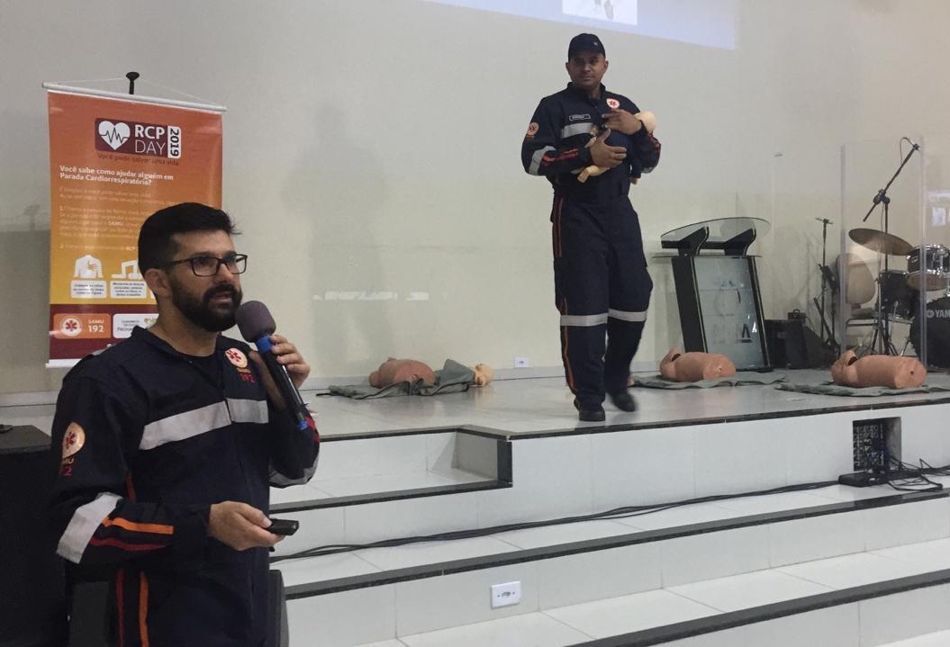 1200 servidores de Sarandi aprendem noções de primeiros socorros
