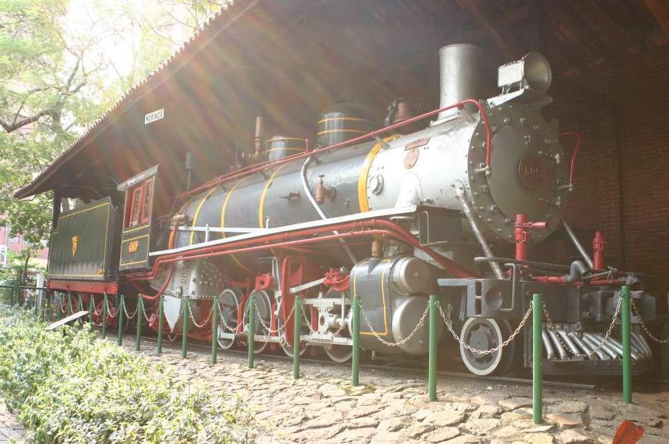 Maria Fumaça do Parque do Ingá terá cobertura restaurada