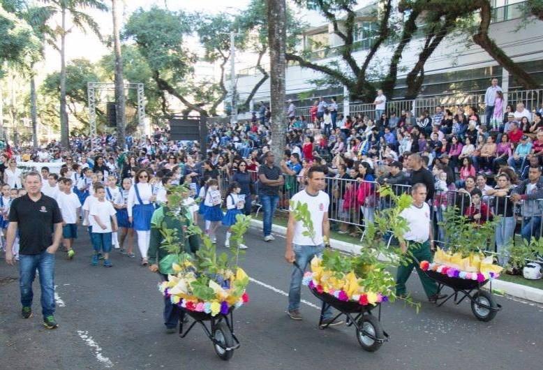 Desfile do aniversário de Maringá será dia 13