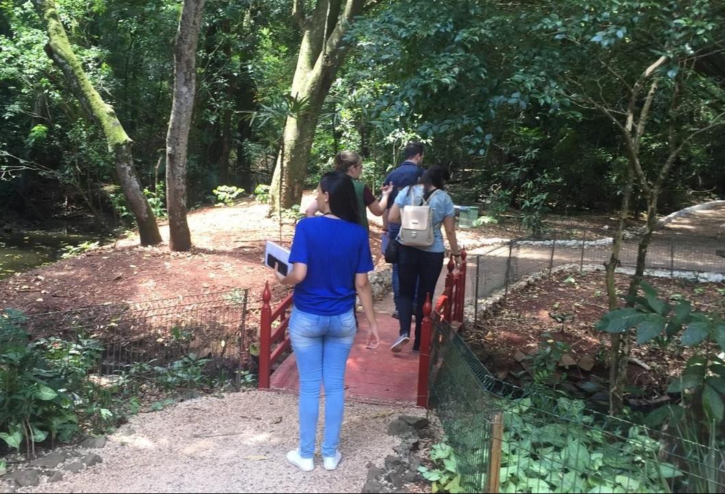Professores fazem vistoria técnica no Parque do Ingá