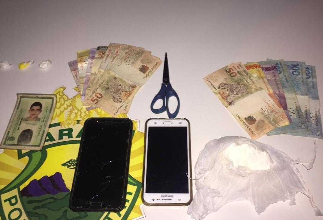 Três suspeitos são detidos em Sarandi por tráfico de drogas