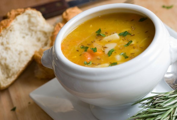 'Sopa é o prato para aquecer os dias mais frios'