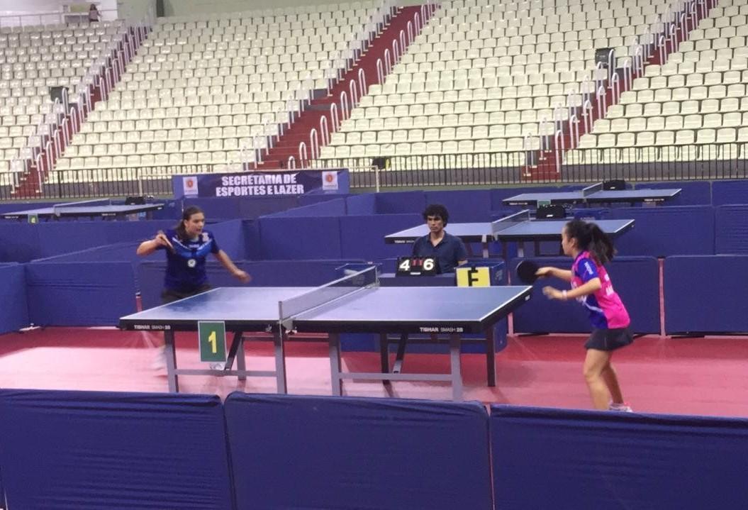 Maringá recebe Copa Brasil Sul e Sudeste de Tênis de Mesa