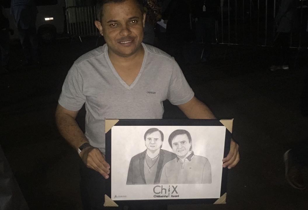 Fãs de Chitãozinho e Xororó aguardam ansiosos pelo show