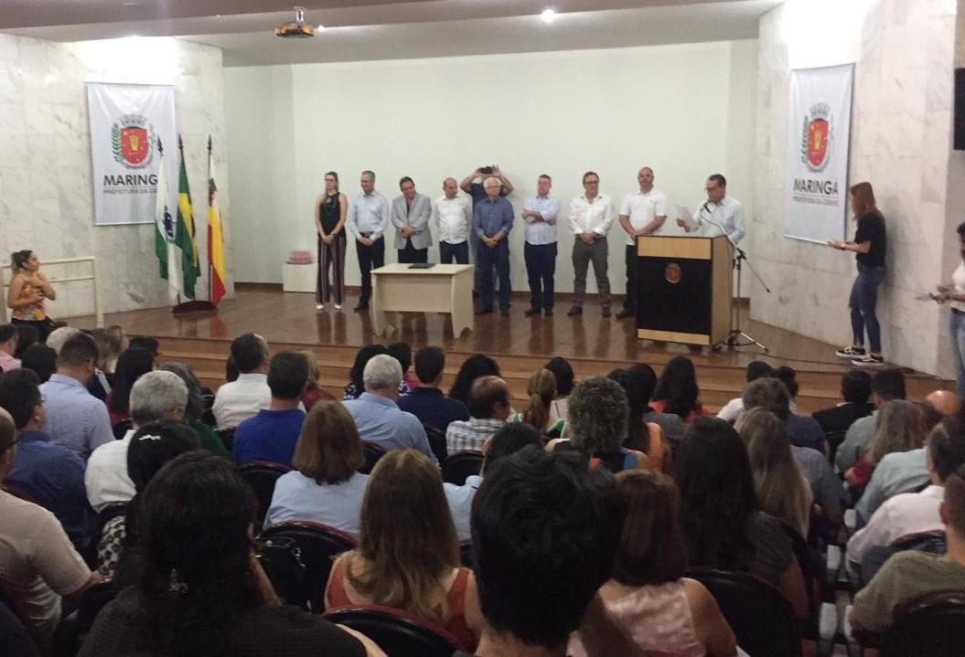Professor da UEM toma posse como novo secretário de assistência social de Maringá