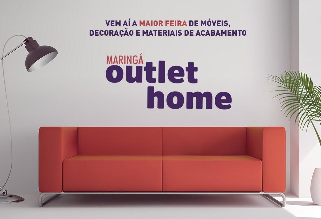 Maringá Outlet Home terá tudo em móveis, decoração e acabamentos