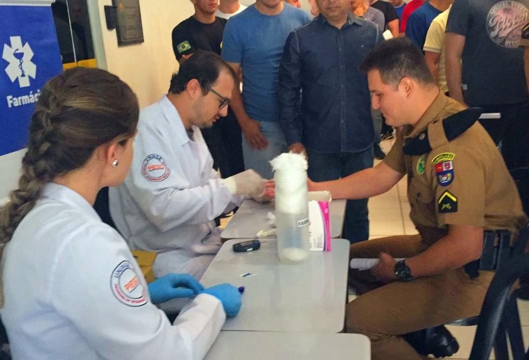 Militares passam por bateria de exames na V Ação de Saúde Preventiva