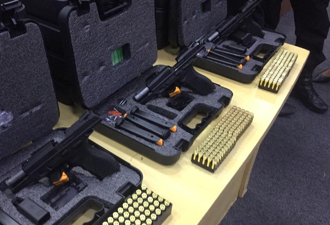 Agentes penitenciários de Maringá agora têm pistolas institucionais