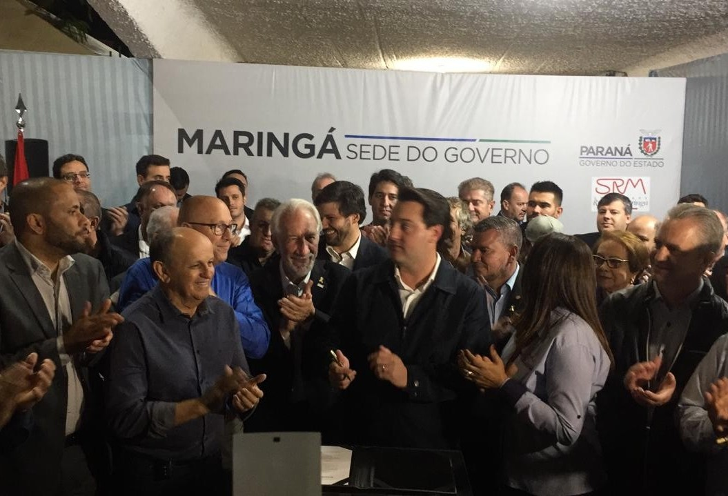 Governo do Estado se instala na Expoingá