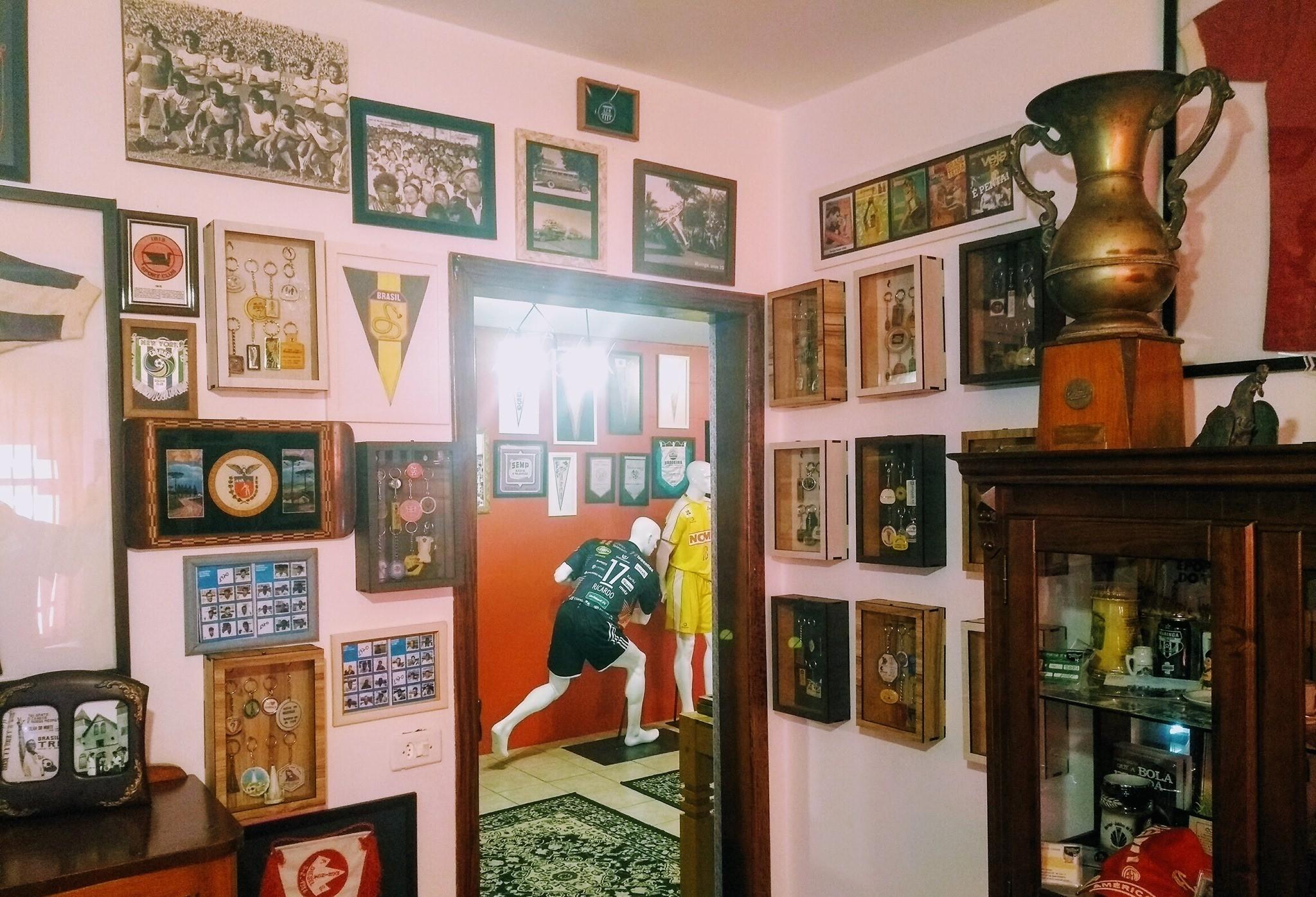 Com mais de 3 mil itens no acervo, Museu Esportivo de Maringá busca apoio