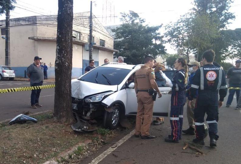 Homem é morto a tiros na avenida Paranavaí, em Maringá