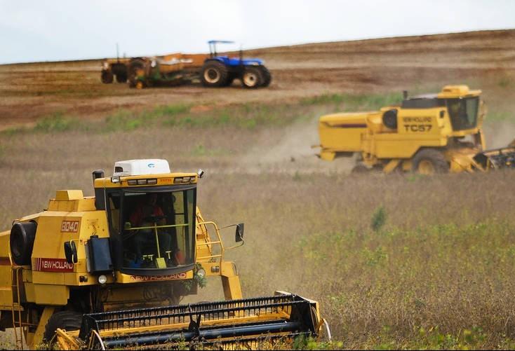 Vendas internas de máquinas agrícolas aumentam 64% se comparado ao ano passado
