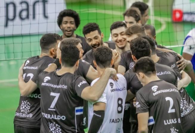 Denk Maringá vence o Foz do Iguaçu por 3 sets a 0
