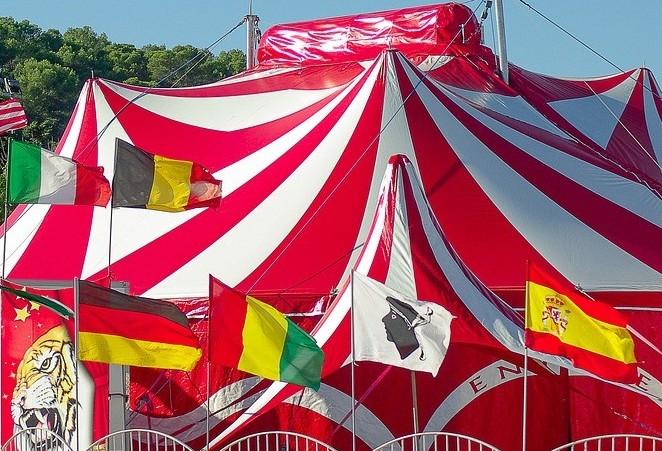 A vida no circo fora do picadeiro
