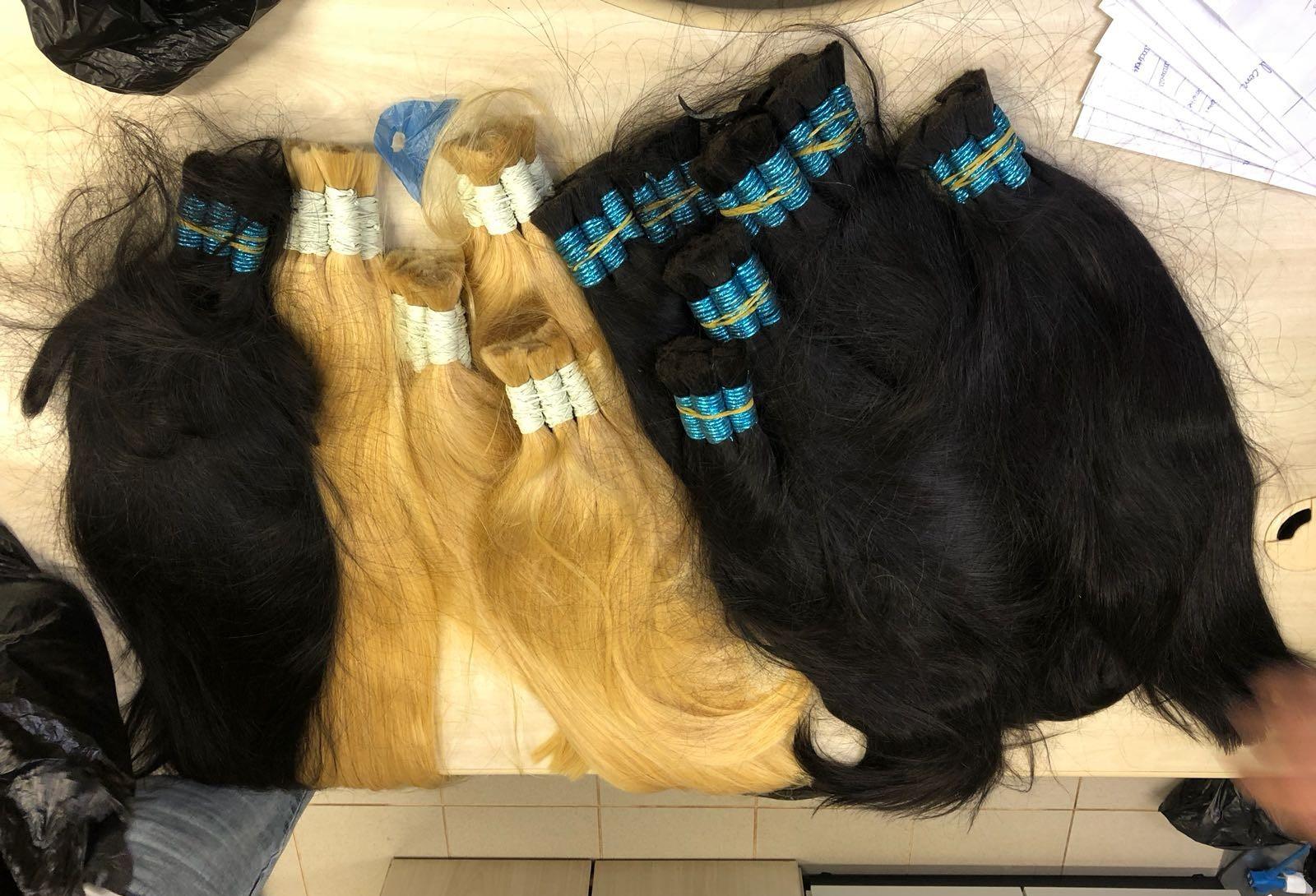 Polícia Federal apreende 40 quilos de cabelo no aeroporto de Maringá