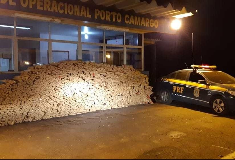 Maior apreensão de maconha feita pela PRF este ano no Paraná foi no noroeste