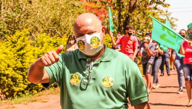 Eliseu da Costa (Patriota), prefeito eleito de Iguaraçu, vai trazer empresas para a cidade