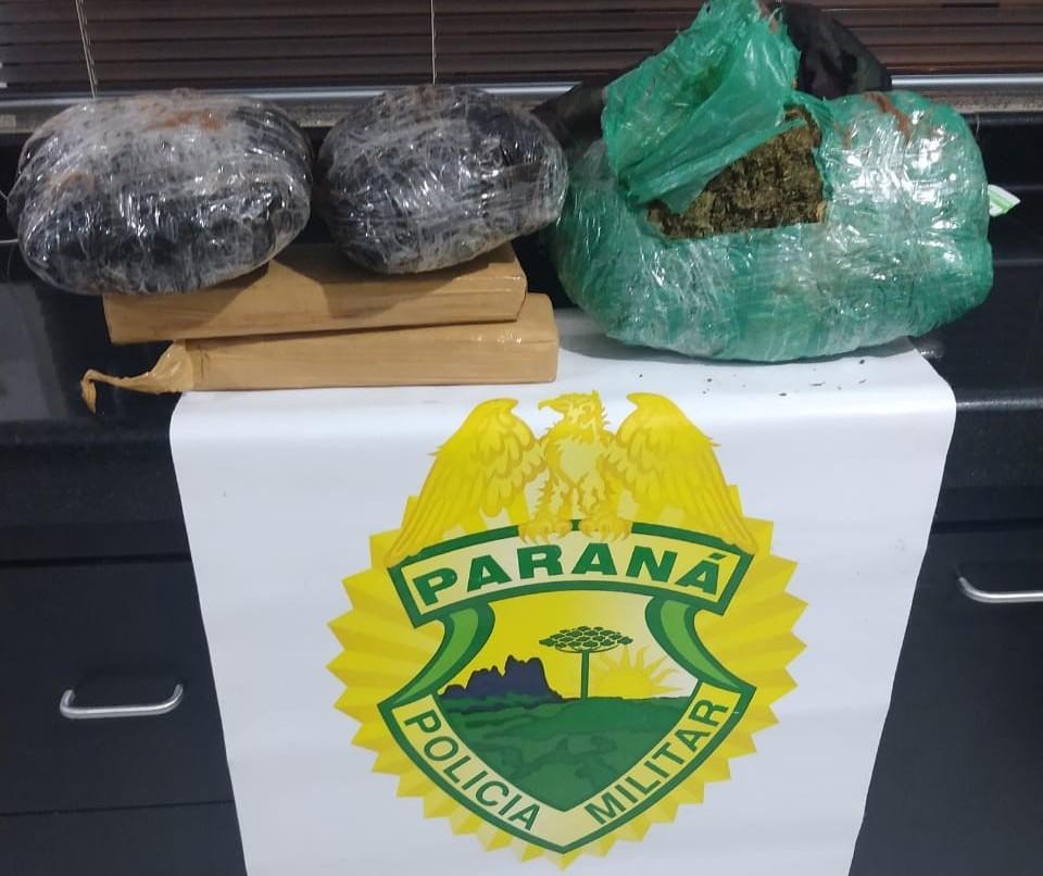 Adolescente de 17 anos é apreendida com drogas em Cruzeiro do Oeste