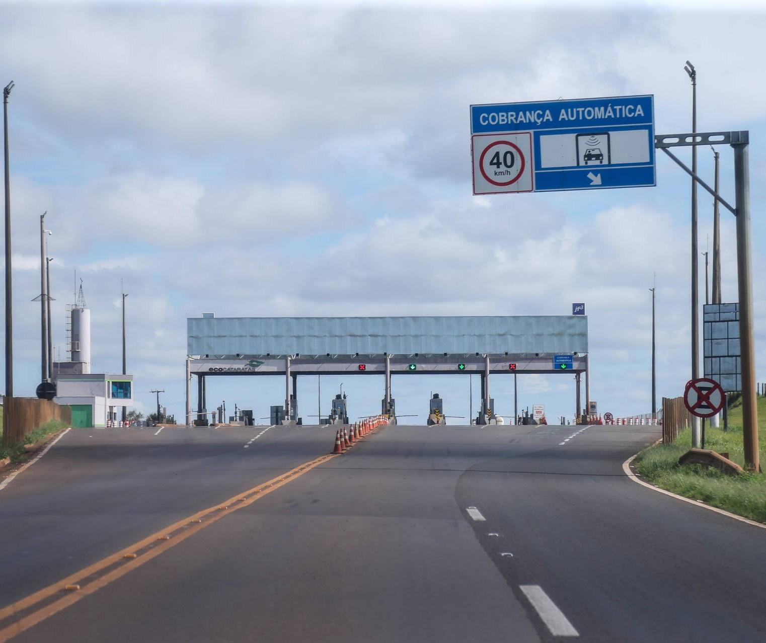 Quanto vai custar viajar de Maringá a Guaíra, pela PR-323, depois das praças de pedágio?