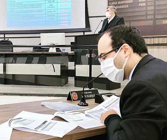 Vereador pede ao Executivo que suspenda empréstimos em Maringá