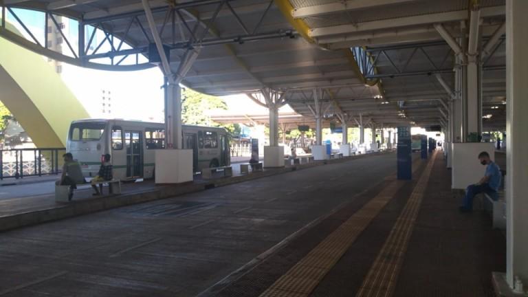 60% da frota de sábado circulam no transporte coletivo de Maringá, diz empresa