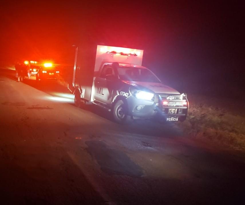 Pedestre morre após ser atropelado na PR-576, em Santa Mônica