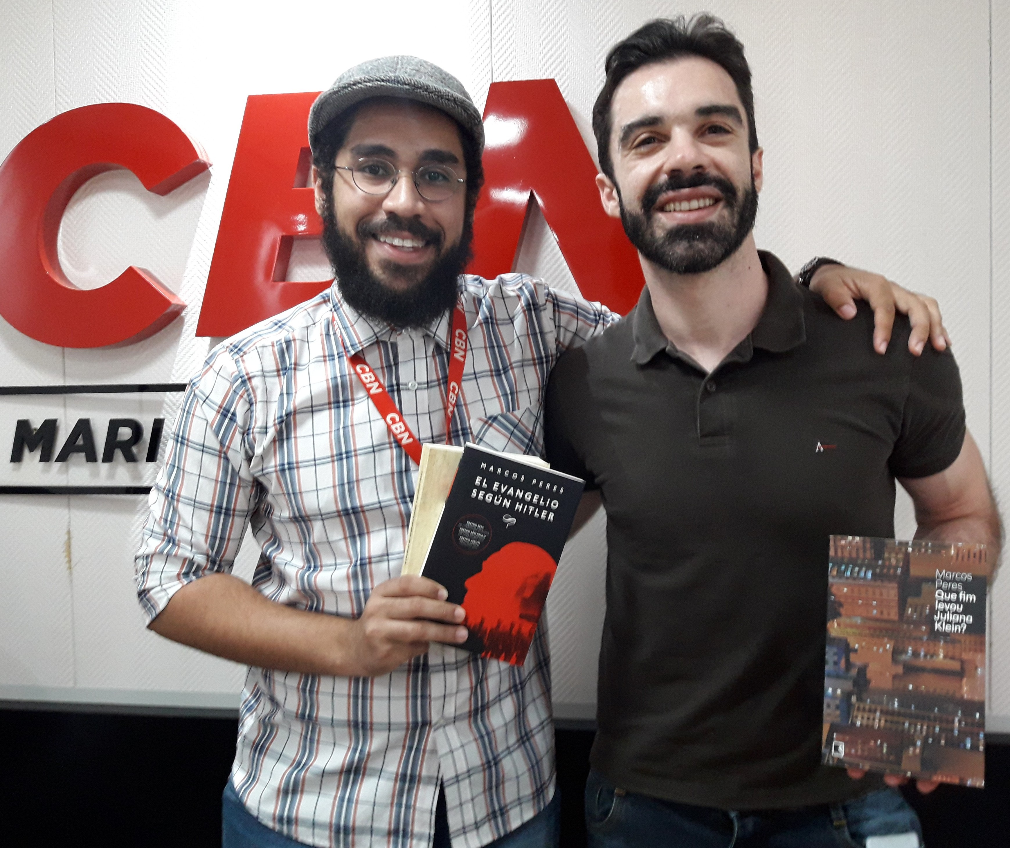"""""""Literatura é diversão para mim"""", diz Marcos Peres"""