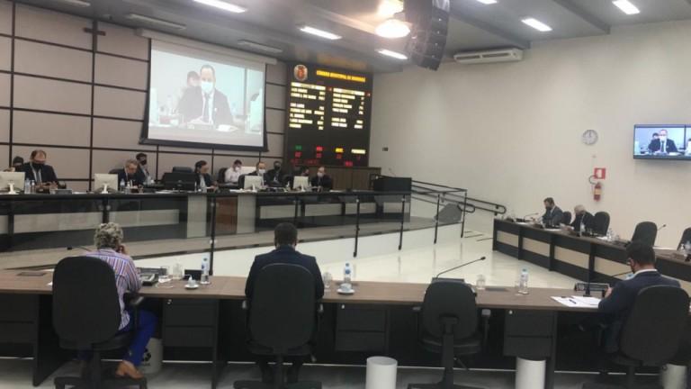 Em sessão ordinária presencial, Câmara de Maringá vota cinco projetos do Executivo