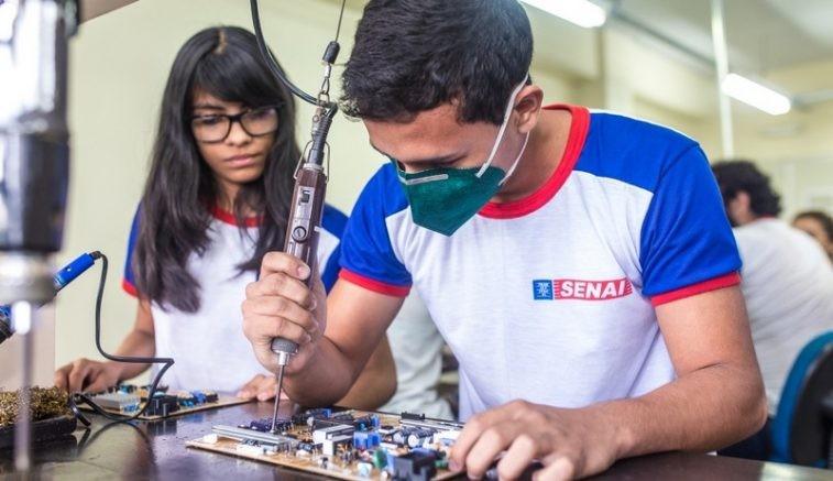 Senai tem 7 mil vagas em cursos técnicos para o primeiro trimestre de 2021