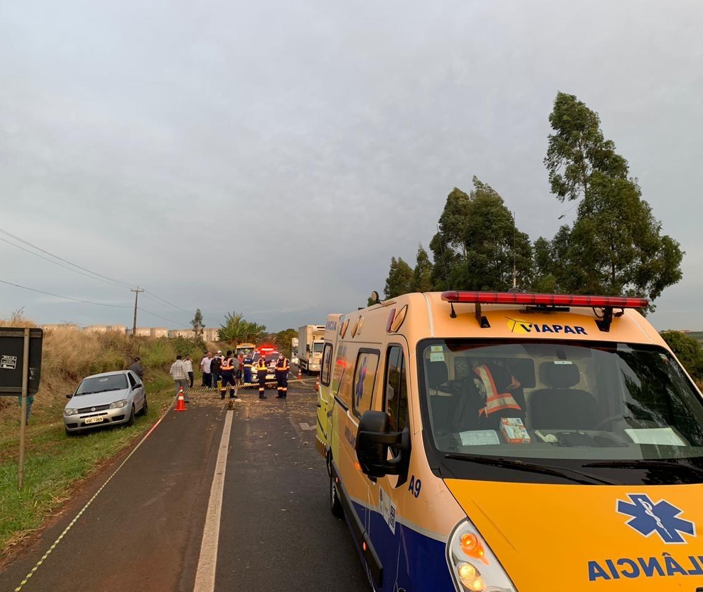 Homem é atropelado na PR-444 em Mandaguari