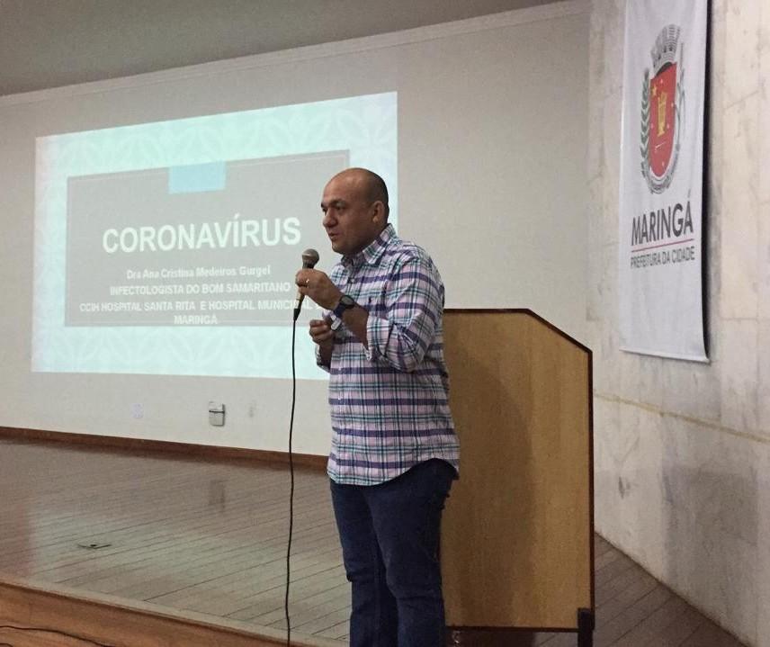 Maringá tem cinco casos suspeitos de coronavírus