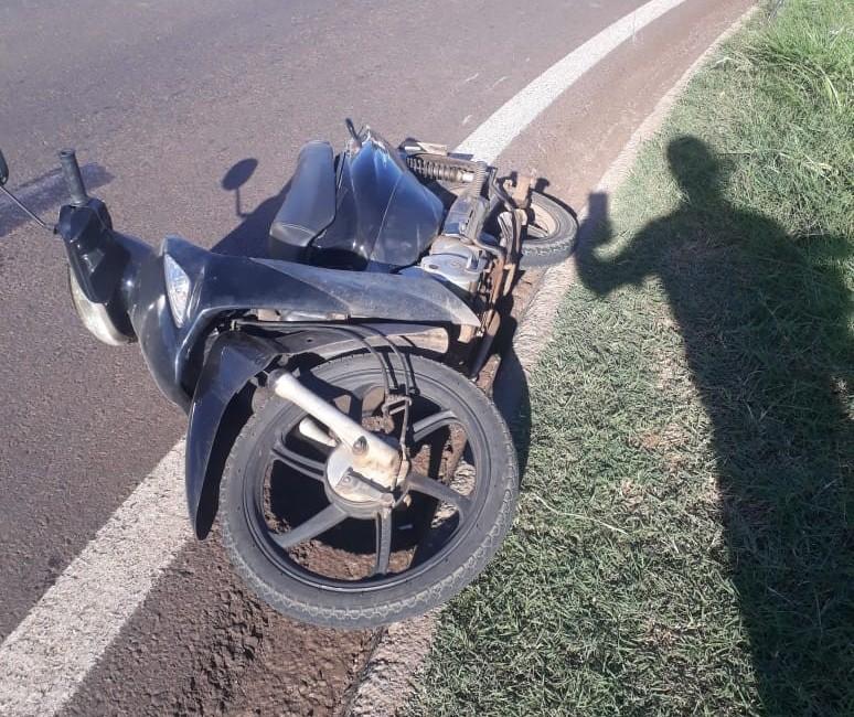 Motociclista fica gravemente ferida em acidente em Maringá