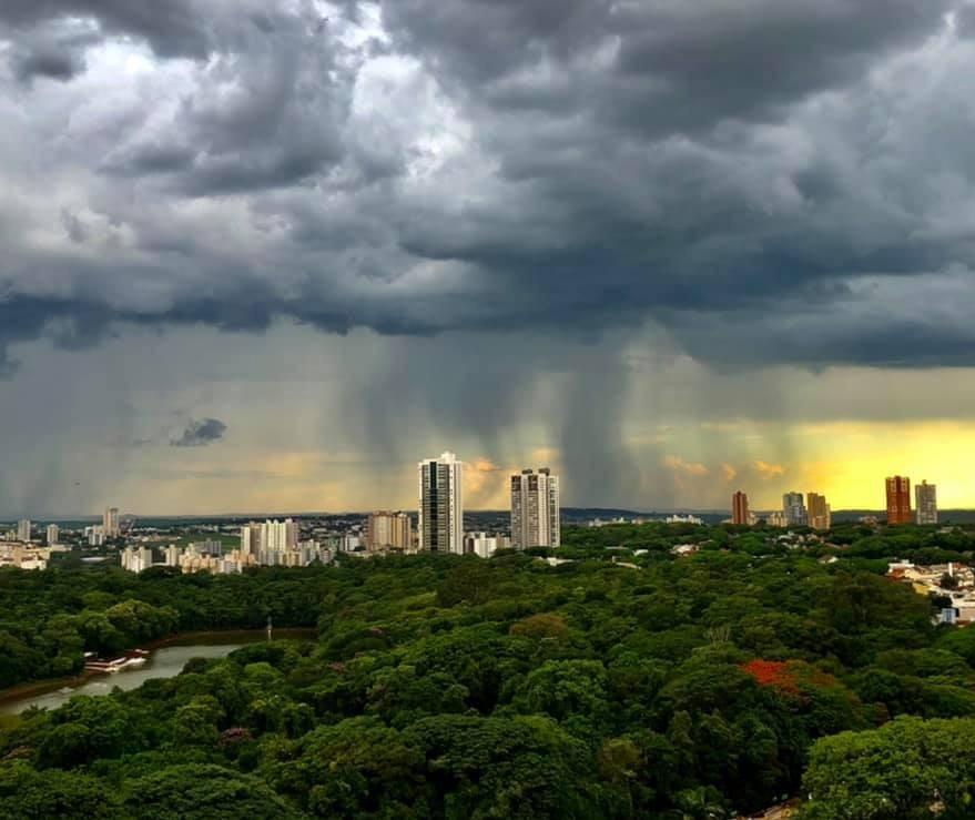 Simepar prevê pancadas de chuva isoladas para Maringá neste domingo (27)