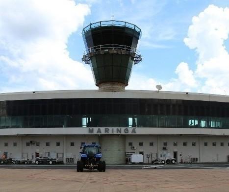 Aeroporto de Maringá deve funcionar parcialmente em outubro