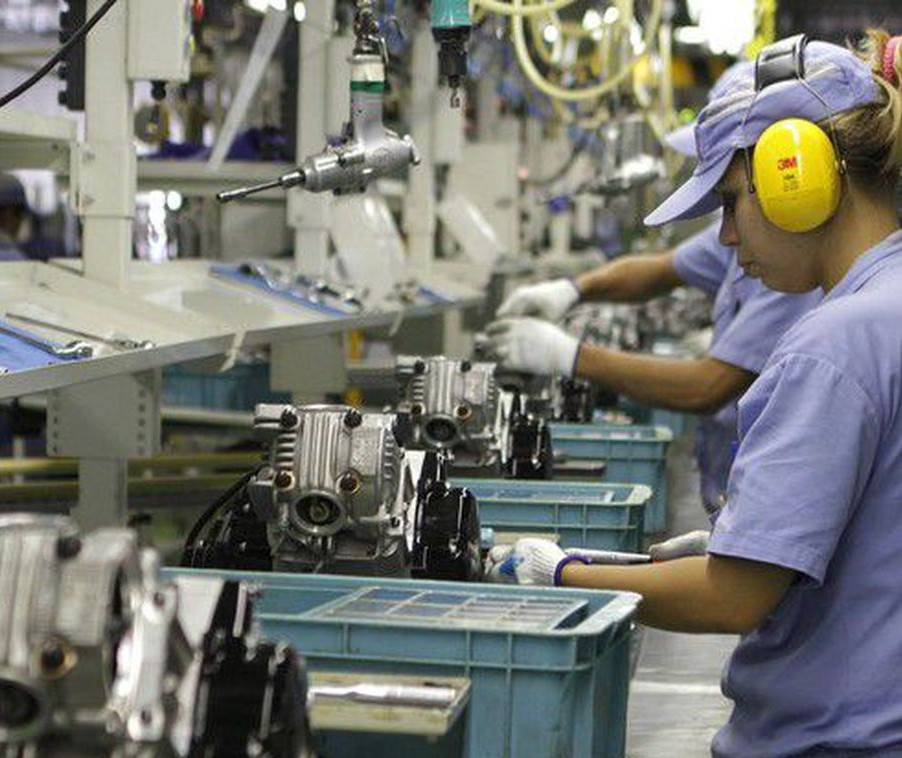 Confiança da indústria cresce 1,1 ponto na prévia de janeiro
