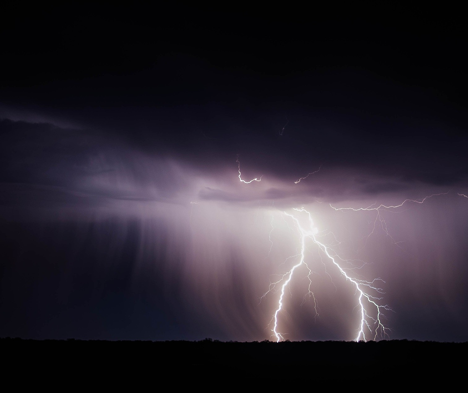 Alerta laranja: Novo temporal está previsto para Maringá