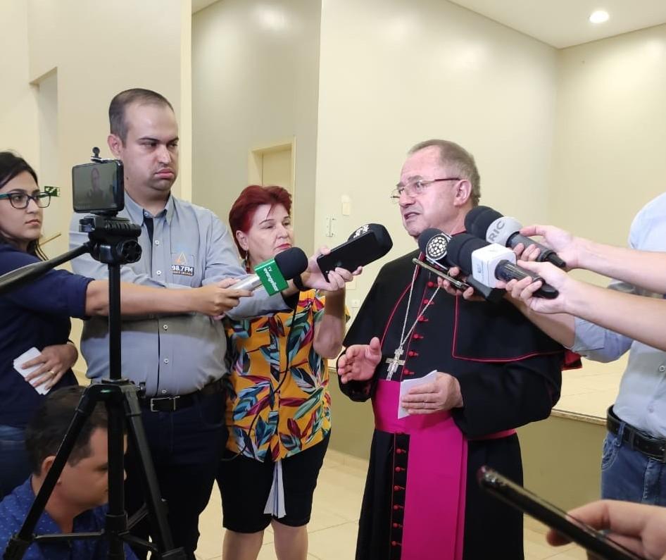 Arquidiocese de Maringá suspende todas as ações da Igreja por 15 dias