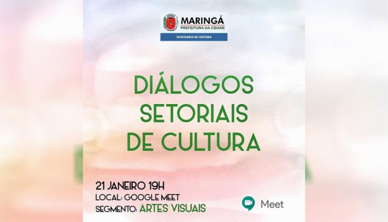 Cultura de Maringá realiza encontros virtuais para ouvir demandas de artistas