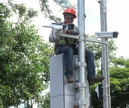 Definidos os pontos de radares na Avenida Colombo; Confira a lista