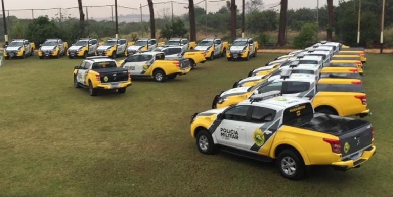 Polícia Militar de Maringá recebe 27 viaturas novas