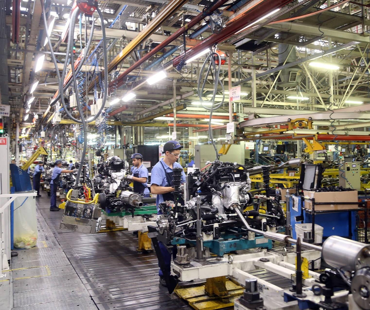 Na contramão do país, produção industrial do Paraná cresce em agosto