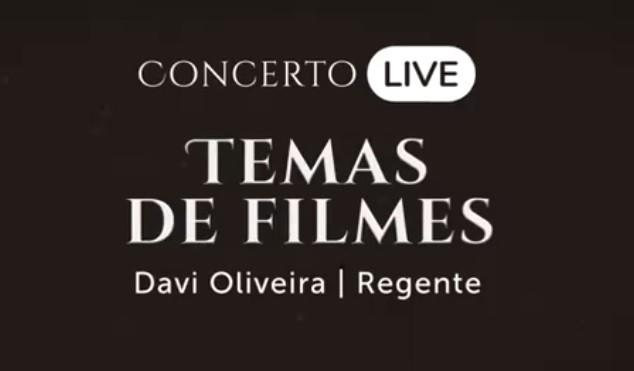 """Orquestra Unicesumar apresenta """"Temas de Filmes"""" em live"""