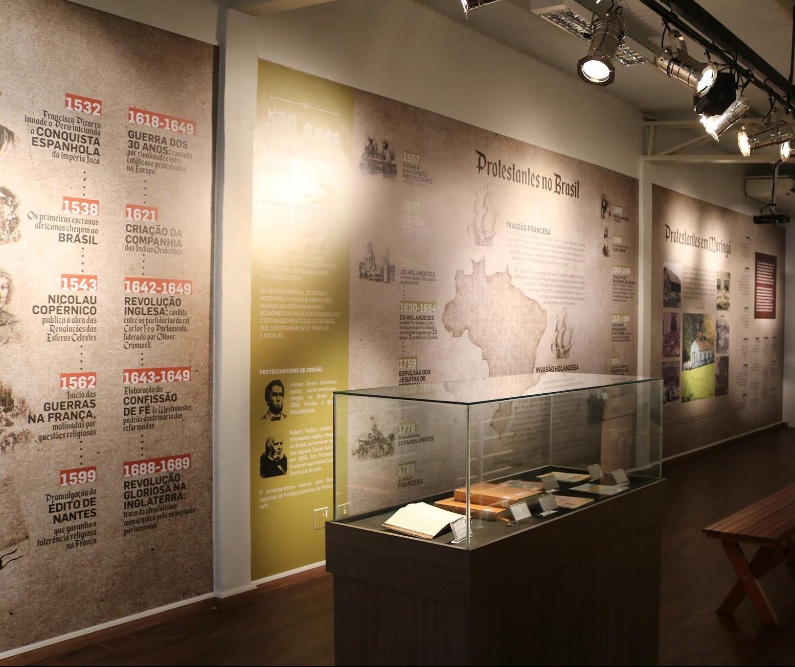Reforma Protestante é tema de exposição, em Maringá