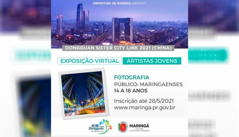 Fotógrafos e pintores de Maringá poderão participar de exposição virtual internacional