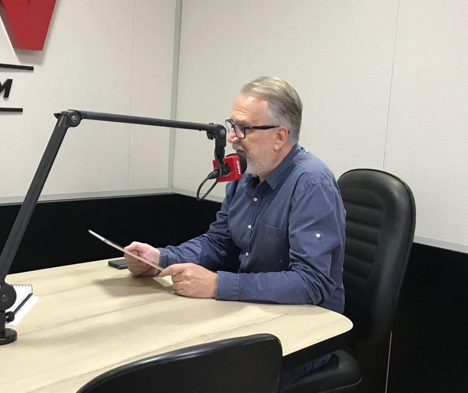 Ratinho Junior apresentou ideias para o governo do Paraná, em Maringá