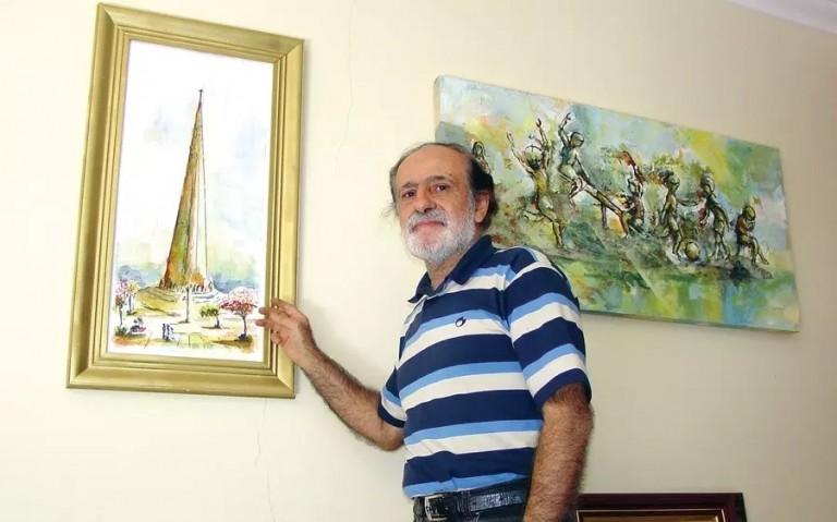 Maringá: Morre o artista plástico Zanzal Mattar, aos 79 anos, vítima da Covid-19