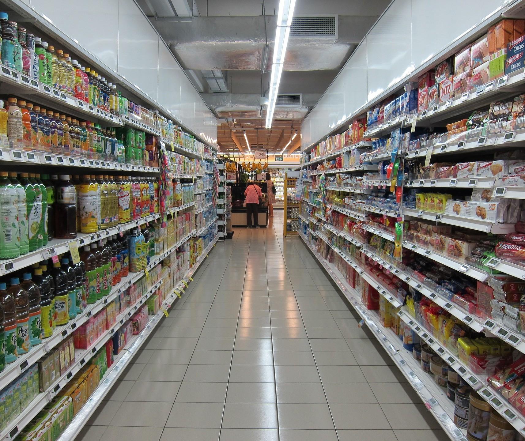 Setores de hipermercados e supermercados tiveram crescimento nas vendas ao longo do ano