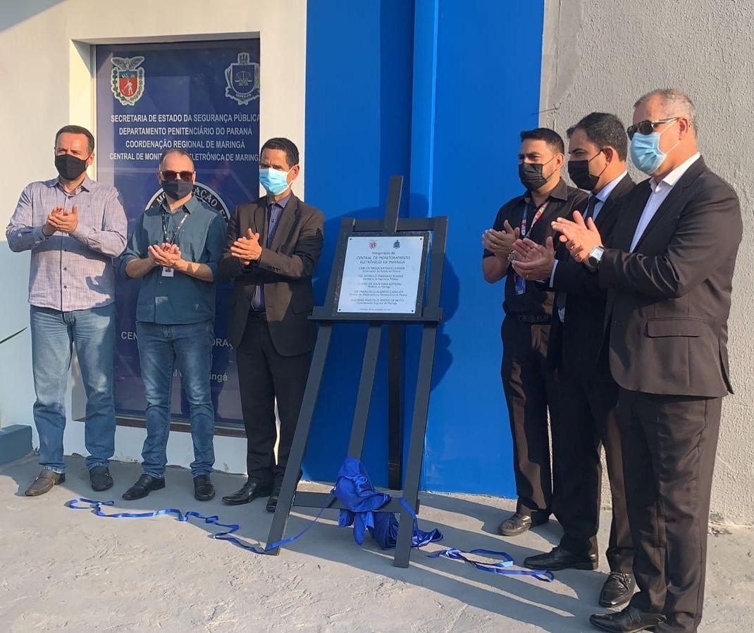 Central de Monitoração Eletrônica é inaugurada em Maringá