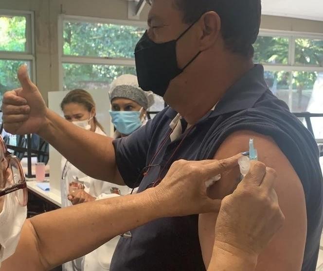 Não haverá vacinação contra a Covid-19 nessa segunda-feira (6)